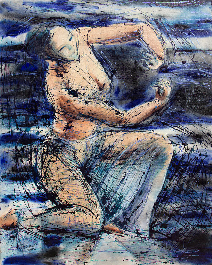 Figurative Painting - Celestial Dancer by Brenda Clews