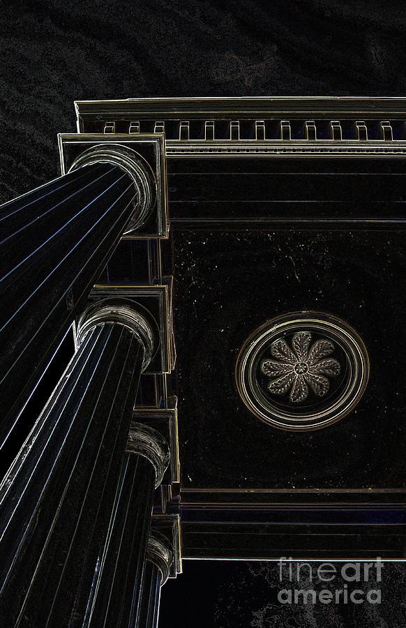 Pillars Photograph - Celestial Pillars by Inspired Nature Photography Fine Art Photography