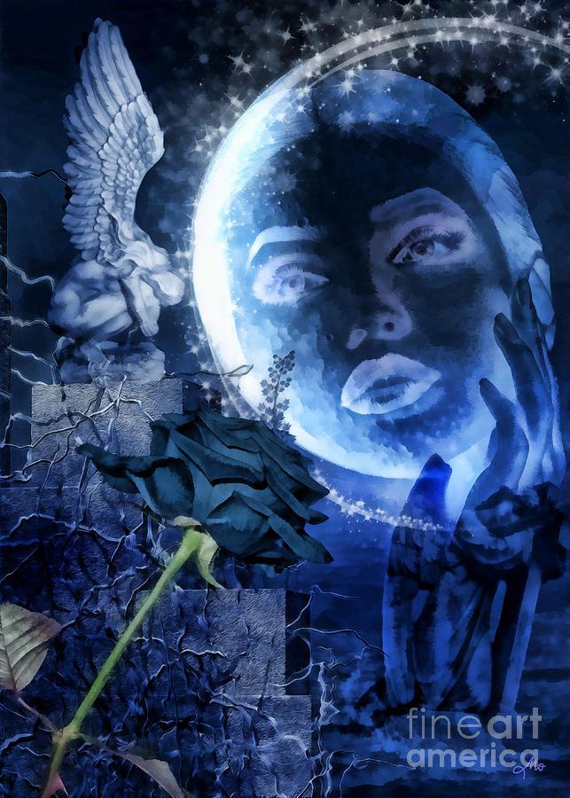Celestine Digital Art - Celestine by Mo T