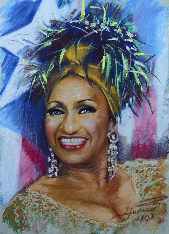 Celia Cruz Drawing By Viola El