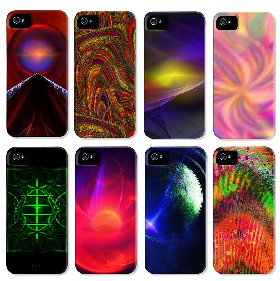 Cell Phone Covers Digital Art - Cell Phone Covers by Elizabeth S Zulauf