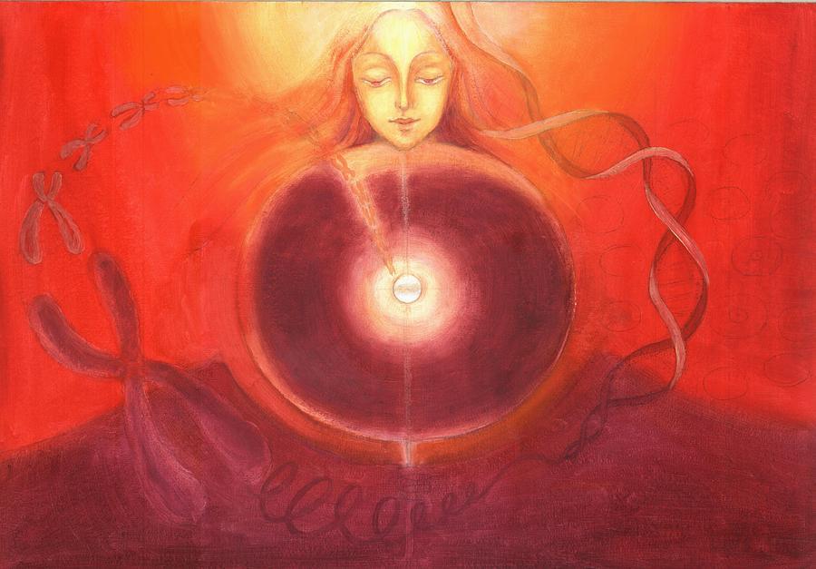 Divine Body Painting - Cellular Yoga by Shiva Vangara