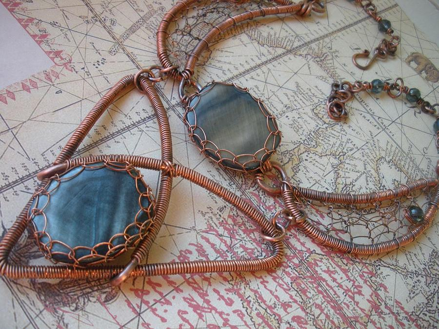 Celtic Collar Jewelry by Teresa