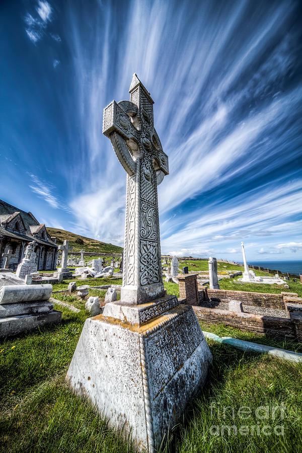 Architecture Photograph - Celtic Cross by Adrian Evans