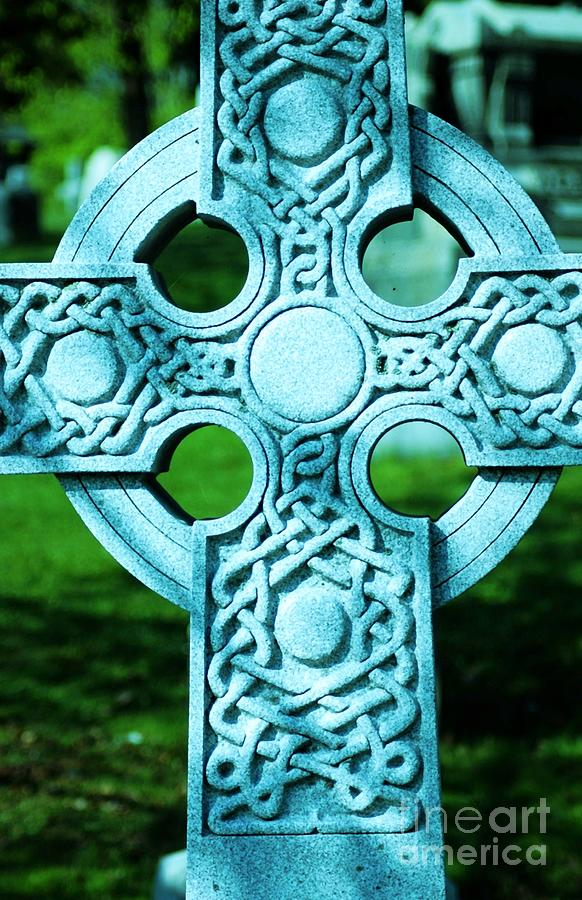 Celtic Photograph - Celtic Cross by Kathleen Struckle
