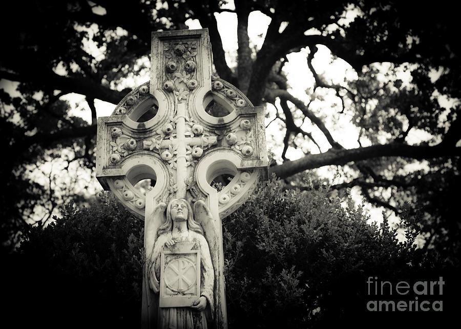 Celtic Cross Photograph - Celtic Cross by Sonja Quintero
