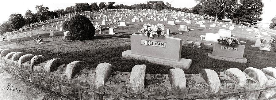 America Photograph - Cemetery  Fayettville Tennessee by   Joe Beasley
