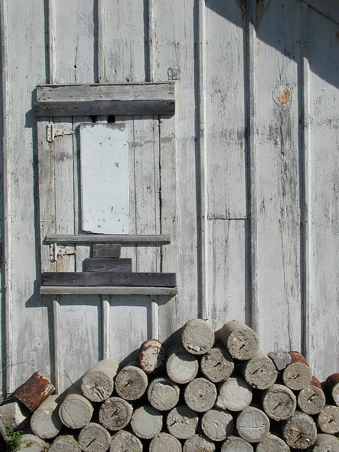 Building Photograph - Cemetery Shed by Joseph Yarbrough