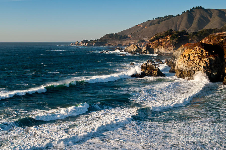 Coastal California Photograph - Central Coastal California 2.2609 by Stephen Parker