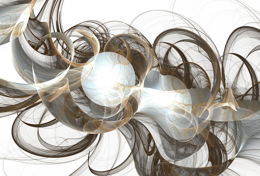 Central Digital Art - Central Core by Anastasiya Malakhova