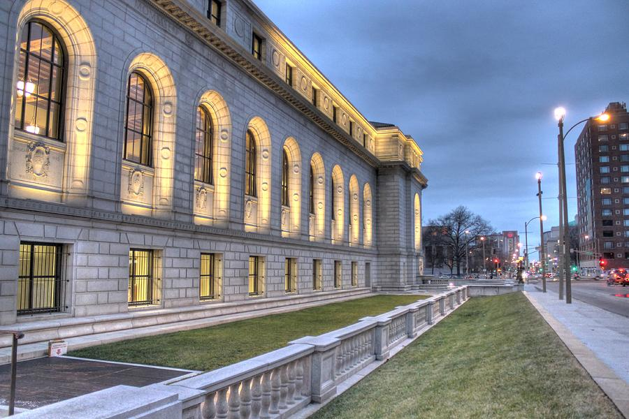 Library Photograph - Central Library St. Louis by Jane Linders
