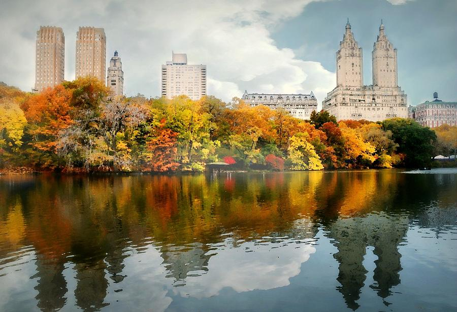 Landscape Photograph - Central Park #1 by Diana Angstadt