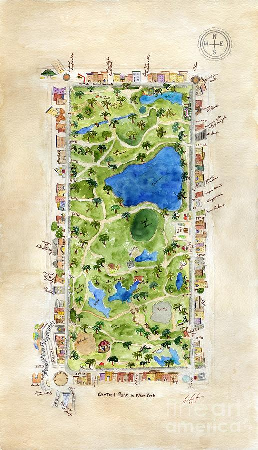 Central Park and all that Surrounds It by AFineLyne