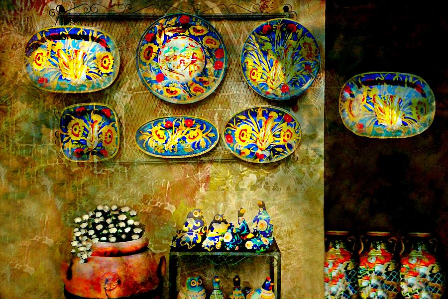 Ceramics Photograph - Ceramica Italiana by Diana Angstadt