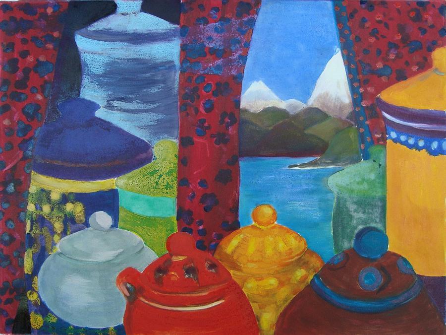 Ceramic Mixed Media - Ceramics View 1 by Karen Coggeshall