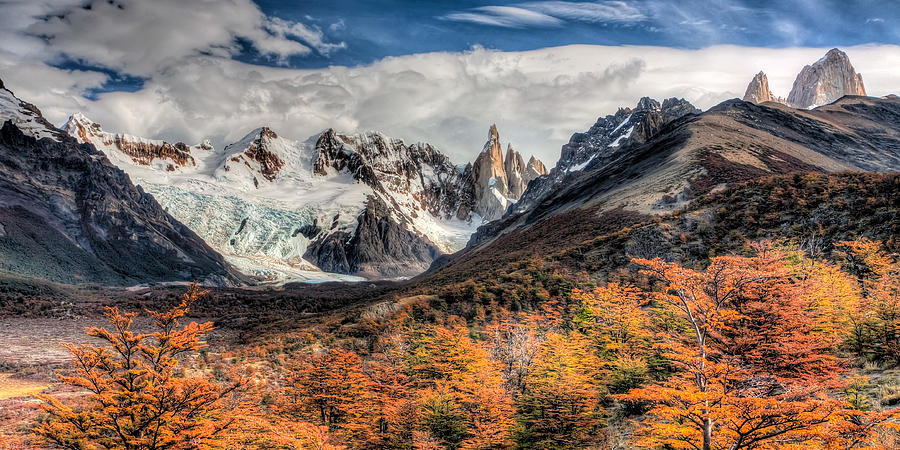 Argentina Photograph - Cerro Torre by Roman St