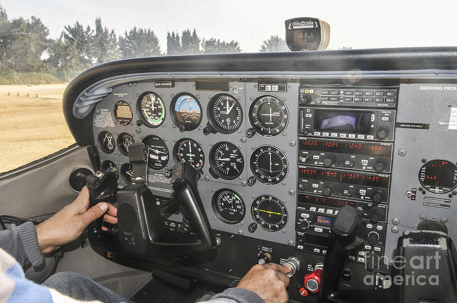Pilot Photograph - Cessna Light Plane by Shay Levy
