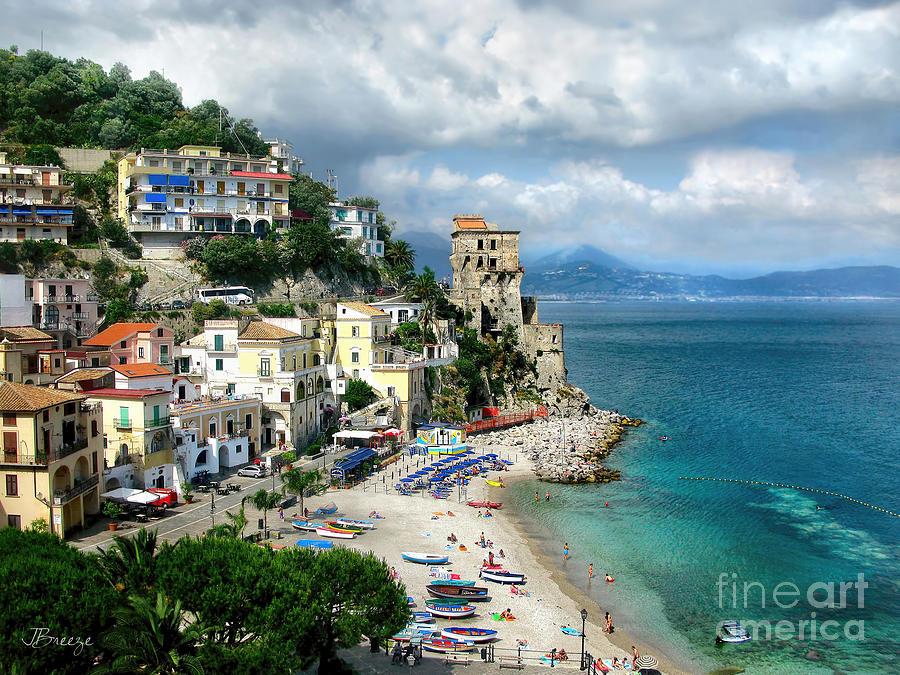 Amalfi Photograph - Cetara. Amalfi Coast by Jennie Breeze