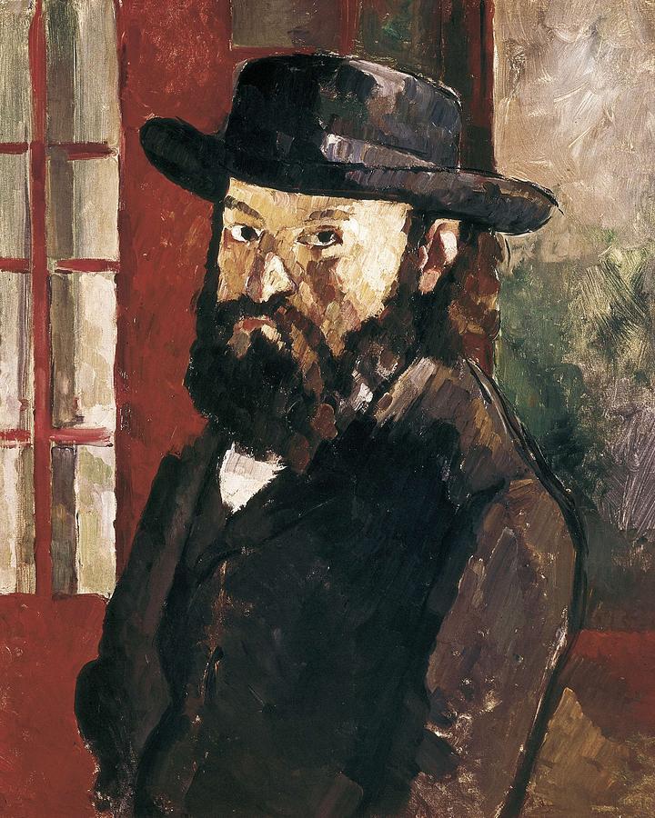 Vertical Photograph - Cezanne, Paul 1839-1906. Self-portrait by Everett