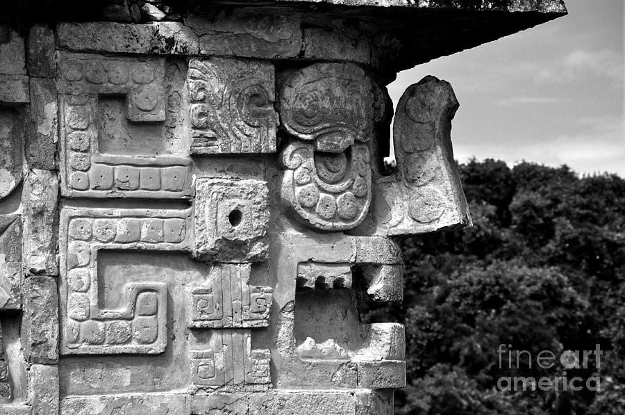 Chaac Photograph - Chaac - Dios de la Lluvia by Kristine Celorio