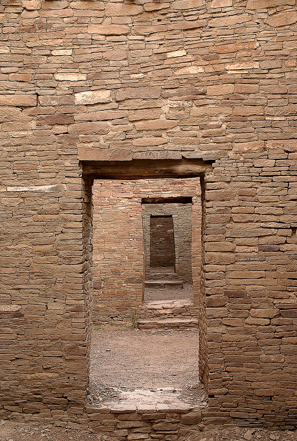 Chaco Photograph - Chaco Canyon by Steven Ralser