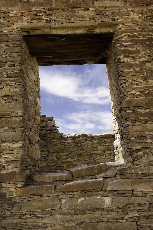 Chaco Canyon Photograph - Chaco Sky by Jeanne Hoadley