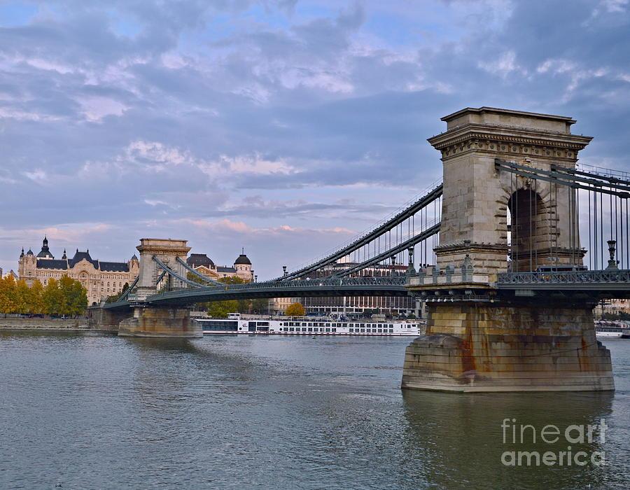 Chain Photograph - Chain Bridge by Steven Liveoak