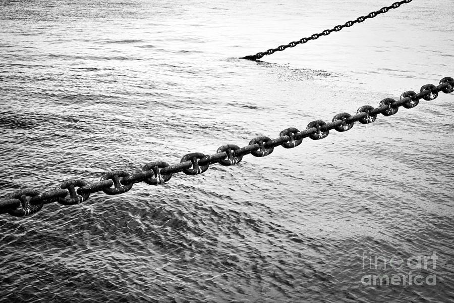 Chain Photograph - Chains by Dean Harte