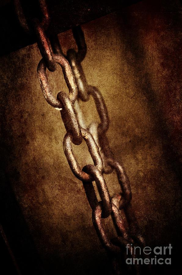 Chain Pyrography - Chains by Jelena Jovanovic