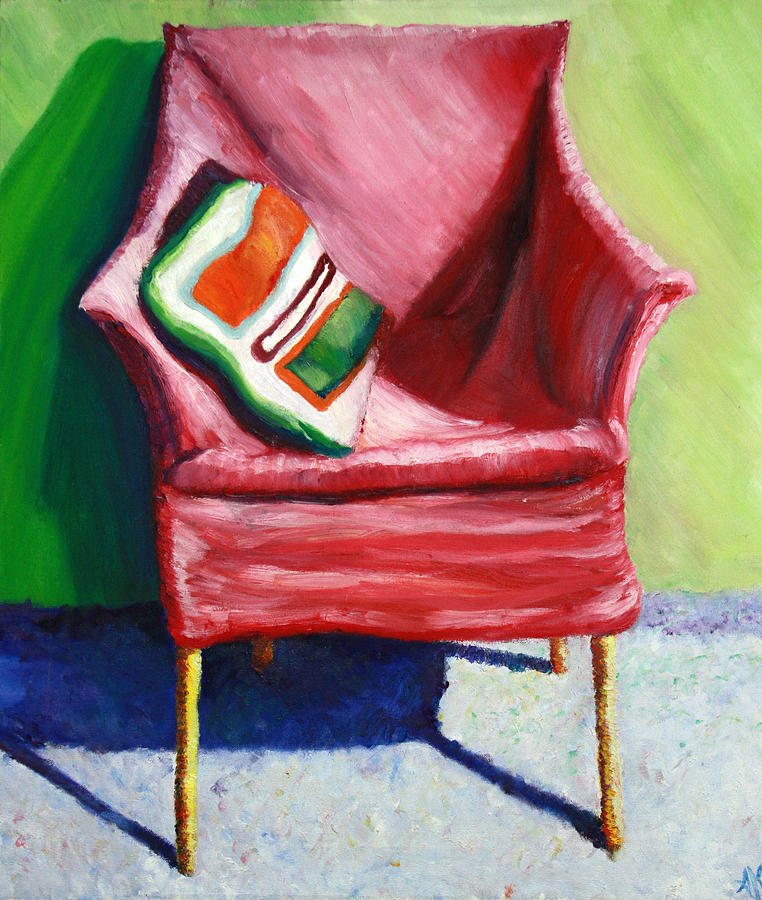Chair Painting - Chair by Aletha Keogh