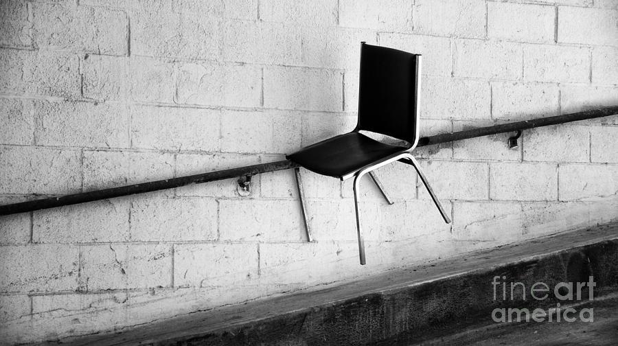 Urban Photograph - Chair by Mark Thomas