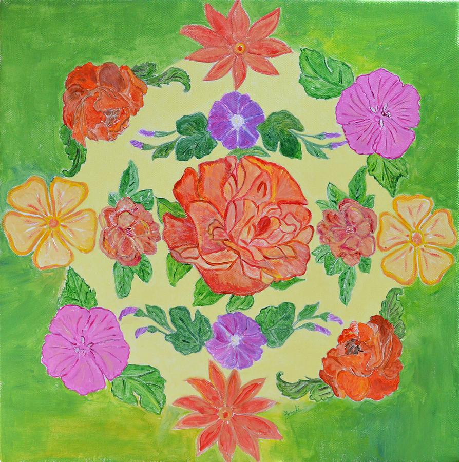 Mandala Painting - Chaitra Mandala by Sonali Gangane