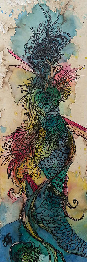 Chakra Mermaid by Christy Freeman Stark
