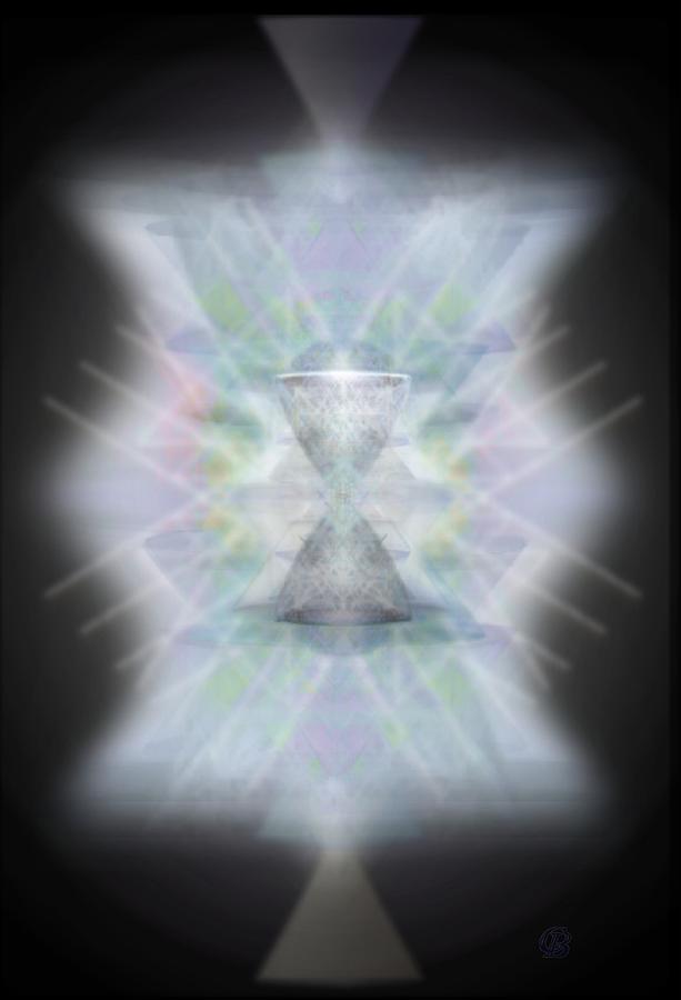 3d Digital Art - Chalice Emerging by Christopher Pringer