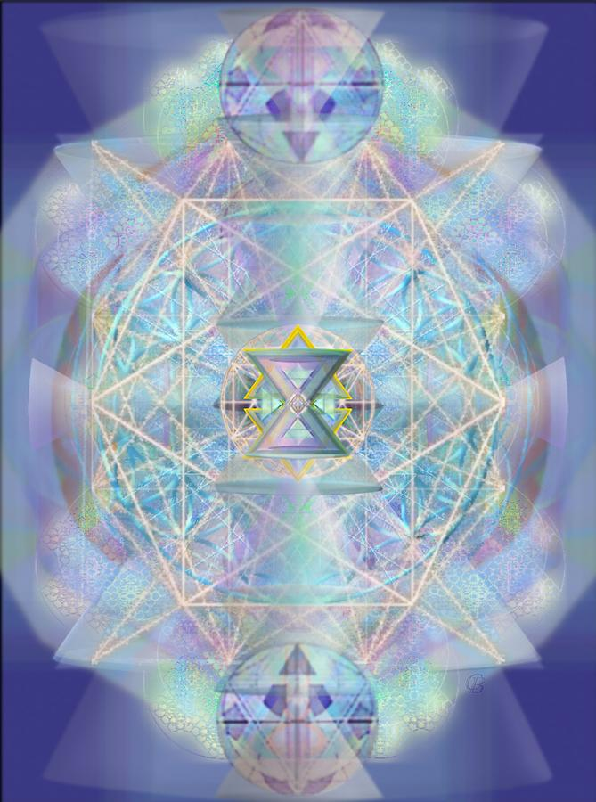 Chalice Digital Art - Chalicells Electro Dynamic Vortices Of Light by Christopher Pringer