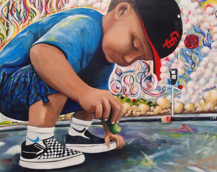 Chalk Art Creations Painting by Randy Segura
