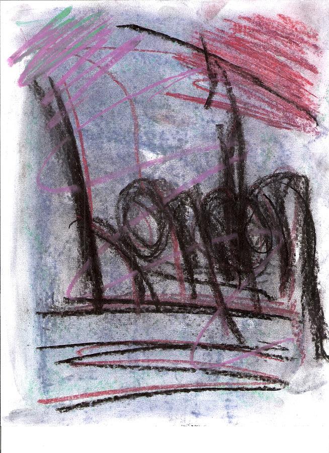 Chalks - London Drawing by Susan Jones