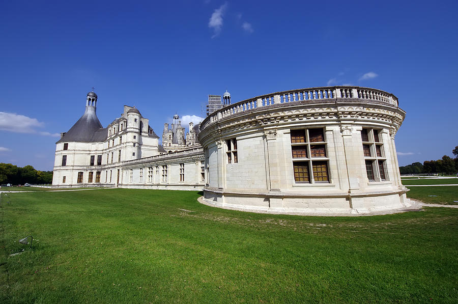 Ages Photograph - Chambord Castle  by Ioan Panaite