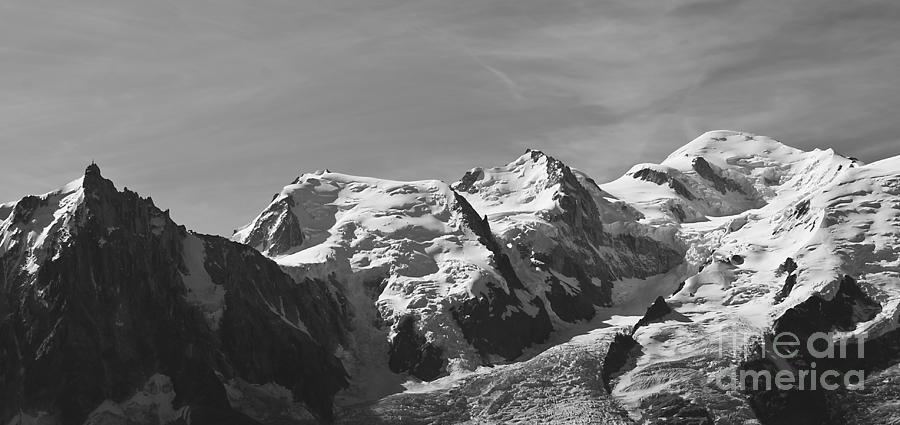 Mountain Photograph - Chamonix Mont Blanc by Camilla Brattemark