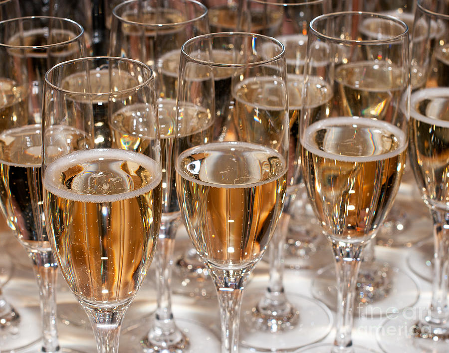 Champagne Photograph - Champagne 01 by Rick Piper Photography