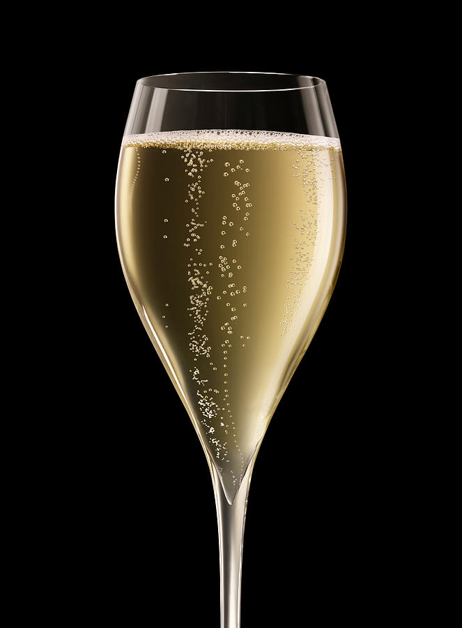 Champagne Glass Xxxl Photograph by Jamesachard