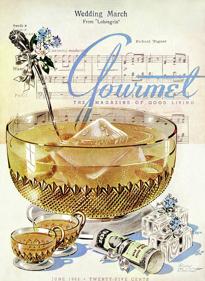 Illustration Photograph - Champagne Punch And The Wedding March by Henry Stahlhut