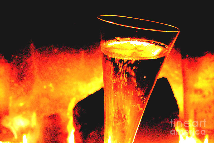 Champagne Photograph - Champagne Wishes by Jerome Stumphauzer