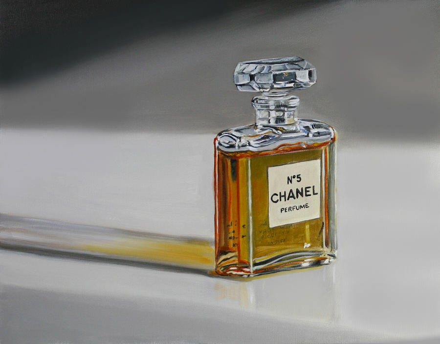 chanel no 5 painting by gail chandler. Black Bedroom Furniture Sets. Home Design Ideas