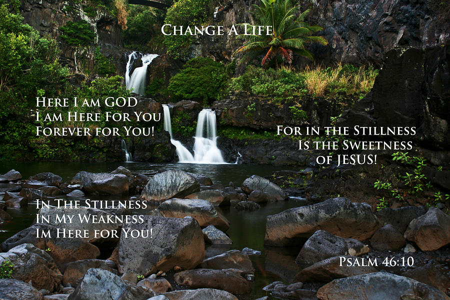 Jesus Photograph - Change A Life by Ronald Suffron