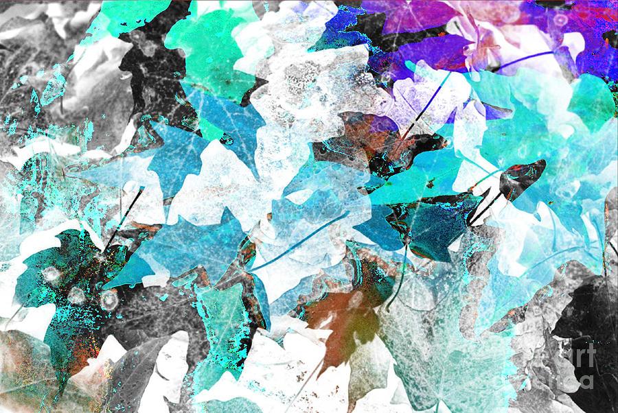 Digital Art Abstract Digital Art - Change Is On The Way by Yael VanGruber