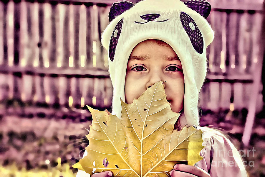 Leaf Photograph - Changes by AK Photography