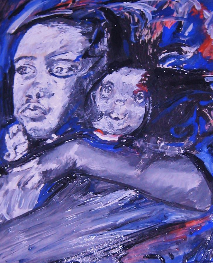 Portraits Painting - Changes by Dawn Fisher