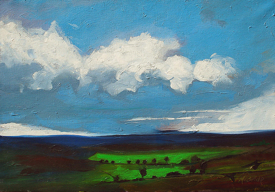 Drama Painting - Changes by Neil McBride