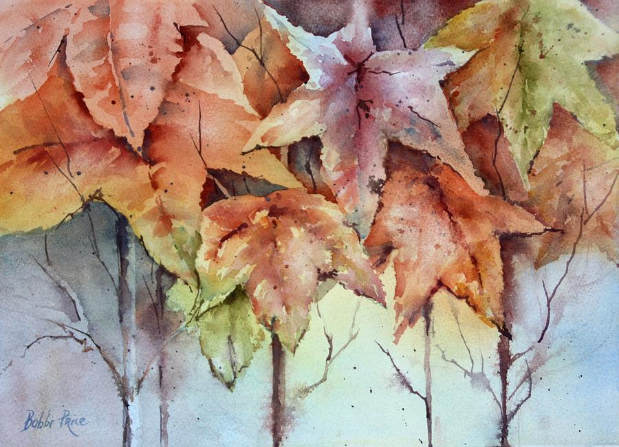 Watercolors Painting - Changing Colors by Bobbi Price